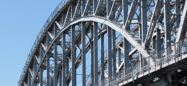 Фото Мостовые вспомогательные конструкции
