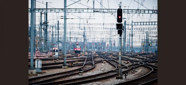 Фото Железобетонные мачты светофоров