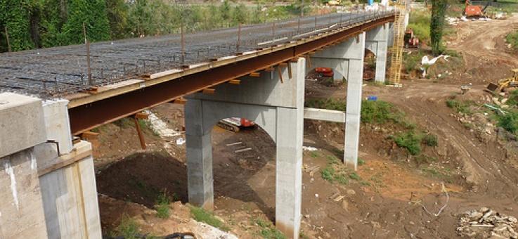 Фото Мостовые инвентарные конструкции пакетные (МИК-П), СТО 136-2009