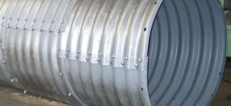 Фото Металлическая гофрированная труба ЛМГ (МГК)