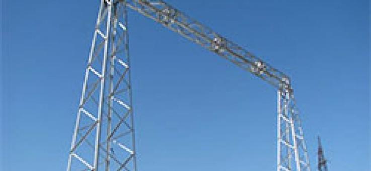 Фото Унифицированные стальные порталы ОРУ
