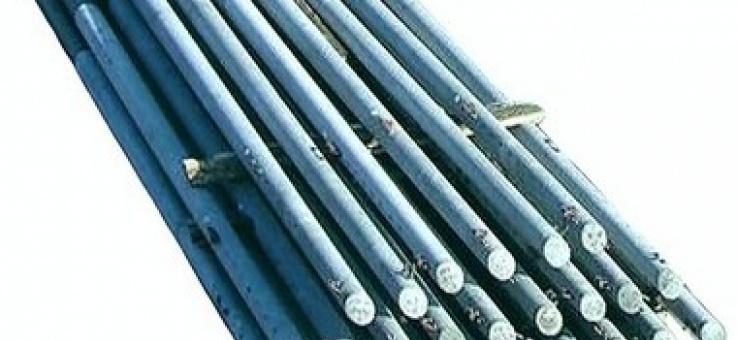 Фото Железобетонные стойки опор контактной сети